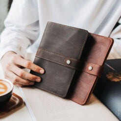 enjoythewoodestonia leather travel notebook