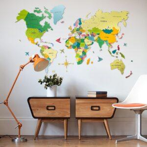 enjoythewoodestonia pvc seinakaart värviline