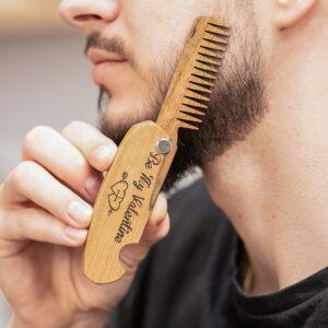 enjoythewoodestonia puidust kokkupandav habemekamm be my valentine