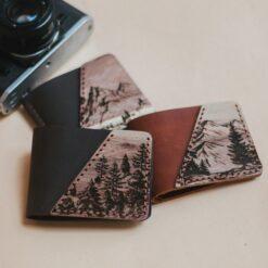 enjoythewoodestonia wallet leather and wood