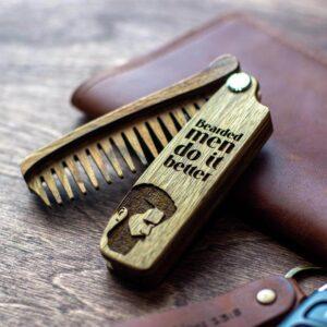 enjoyhtewoodestonia puidust kokkupandav habemekamm bearded men do it better