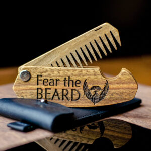 enjoythewoodestonia puidust kokkupandav habemekamm fear the beard