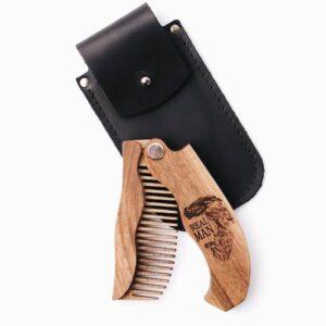enjoythewoodestonia puidust kokkupandav habemekamm real man special